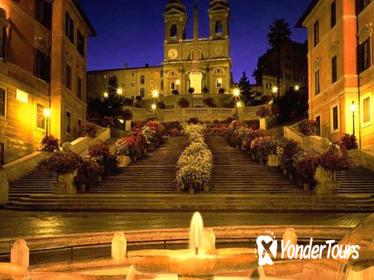 Panoramic Rome by Night tour with Dinner and Folk Music