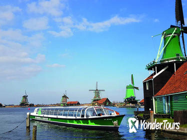 Dutch Countryside Hop-On Hop-Off Bus Tour and Zaanse Schans cruise