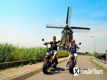 E-chopper rental Volendam and One-day bus Amsterdam region