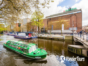 Amsterdam Canal Cruise and Heineken Experience Entrance Ticket
