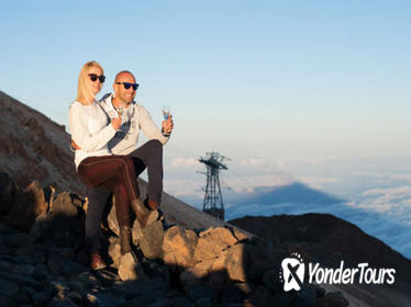 Mt Teide Sunset and Stargazing Experience in Tenerife Including Sparkling Wine and Dinner