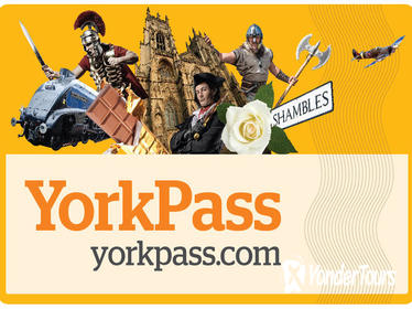 The York Pass Including Hop-On Hop-Off Tour