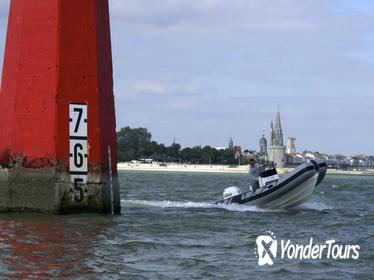 Rent a rigid-inflatable boat for up to 10 people in La Rochelle - License required