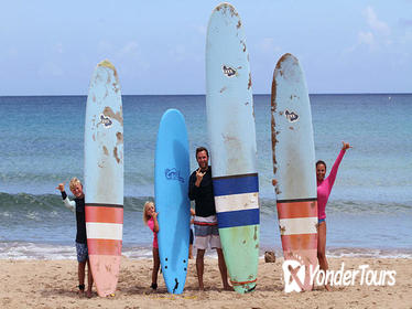 Kauai Learn to Surf Semi-Private Lessons