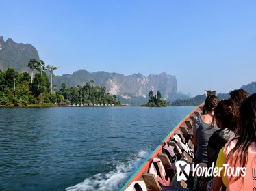 Full-Day Tour to Cheow Lan Lake in Khao Sok National Park from Krabi