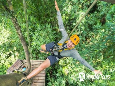 Zipline Canopy Adventure in Chiang Mai